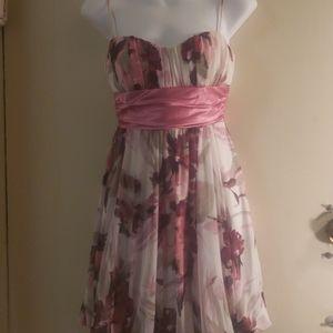 Flower patter dress